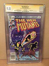 New Mutants #1 CGC SS 9.8 W/P (2nd Appearance of New MUTANTS) (Origin of Karma)