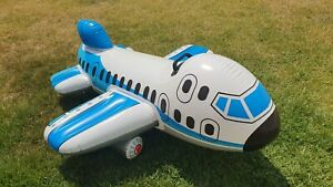 Inflatable 2009 Intex 1-person Airplane Ride On Pool Toy USED