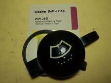 WINDSHIELD WASHER FLUID CAP - FORD ESCORT, MERCURY TRACER 1991-UP. SNAP ON STYLE