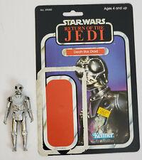 Vintage Kenner Star Wars Death Star Droid figure with ROTJ backer card Complete