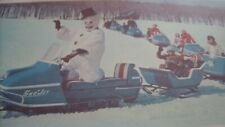 1967 Vintage SNO JET Snowmobile Brochure