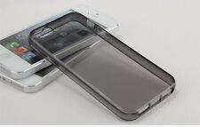 TRANSPARENT SOFT SILICONE RUBBER COVER SKIN CASE FOR IPHONE 4 4S BACK CASE #2