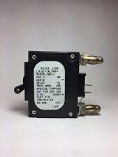 LMLB1-1RLS4R-36825-100-V, 470-316-10, 100 Amp Single Pole, Bullet, 2 Pins, Black