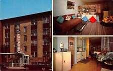 Montreal Canada Park Plaza Tourist Apartments Vintage Postcard J66239