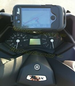 SUPPORTO NAVIGATORE GPS SMARTPHONE GOPRO YAMAHA T-MAX 530 T MAX 2012-2016