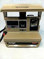 Polaroid 600 Land Camera Amigo 620 Instant 600 Film Camera with Strap Not Tested