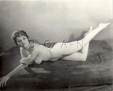 Org Vintage 40s-60s Nude (10 x 8) RP- Detroit- Artistic- Endowed Brunette- Legs