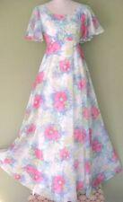 Nylon Maxi Vintage Dresses for Women