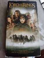 The Lord of the Rings: The Fellowship of the Ring (VHS, 2002)