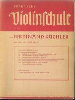 Ferdinand Küchler : Praktische Violinschule  Band 2 , Heft 2