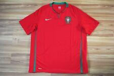 SIZE XL PORTUGAL NATIONAL TEAM FOOTBALL SOCCER SHIRT 2008/09/10 HOME NIKE JERSEY