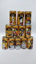 Empty Can 2019 Japan WONDA ASAHI coffee can x12 FULL SET LUPIN III 3 RARE