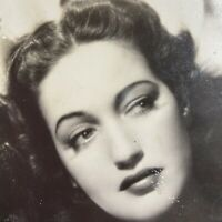 Vintage Postcard Dorothy Lamour Movie Star Real Photo RPPC EKC 1939-1950