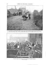 WWI Population Maretz Cateau Cambrai Caudry Tommies British Army B ILLUSTRATION