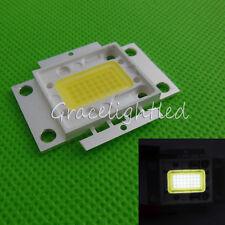 32W High power LED Lamp Chip Cold White 10000-15000K 12-14V DC Aquarium Lighting