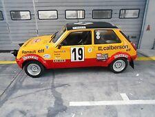 RENAULT R5 5 Alpine Calberson Rallye Monte Carlo 1978 #19 Ragnotti IXO Alt 1:18