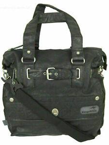 KangaROOS Jean-II B0290 Shopper (Set) Damen Tasche & Einkaufstasche schwarz grau