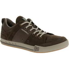 Merrell Rant Dash Mens Brown Suede Leather Lace-Up Shoes Trainers Size 6.5-8
