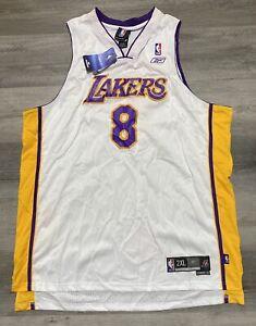 NWT 2004 Los Angeles Lakers Kobe Bryant #8 NBA Reebok Swingman Jersey
