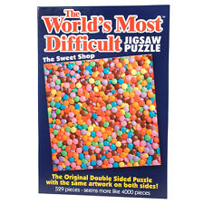 Worlds Most Difficult Sweet Shop 529 Piece Jigsaw Puzzle