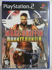 COMPLET Jeu MACE GRIFFIN BOUNTY HUNTER playstation 2 sony PS2 francais game