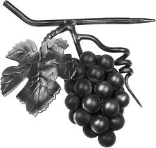 Grappe de raisins fer forgé 180 x 180 mm décoration grilles,pergolas,portails,