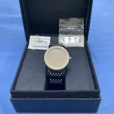 Swiss Movado Concept 60 Mirror Dial Stainless Steel Model # 0606171 Men's Watch