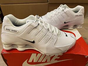 Size 8 - Nike Shox NZ EU White Black