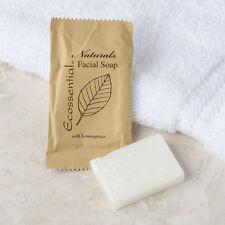 Ecossential Naturals Hotel and Motel Facial Soap 0.5 oz. Bar - 400/Case