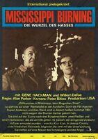 """DDR Progress Filmplakat A3 Mississippi Burning 1989 """"ungeknickt"""""""