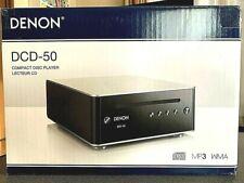 DENON DCD-50 SP CD Player D/A Converter MP3 WMA File Playback Premium Silver JPN