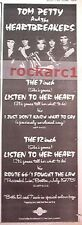 TOM PETTY Listen To Her Heart 1978 UK Poster size Press ADVERT 16x6 inches