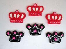 20 Cute Princess Crown Resin Flatback Button/craft/Scrapbook/Embellishment B11
