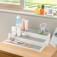 White 3 Tier Shelf Jar Rack Holder Cupboard Organiser Storage Kitchen Tool  Top