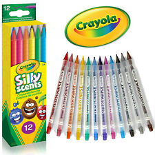 Crayola Coloured Pencils Silly Scents Twistables Nontoxic Drawing Colouring Art