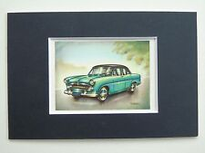 1955 Ford Versailles - Mounted Colour Vintage Car Automobile Print