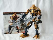 Lego Bionicle TITAN 8734 BRUTAKA Figure 100 % Complete & Instructions