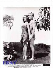 Dorothy Lamour busty,  Richard Denning  VINTAGE Photo Malaya