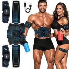 Abdominal Muscle Stimulator Trainer EMS Abs Exercise Home Gym Fitness Equipment