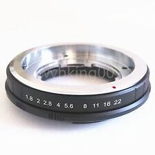 Voigtlander Retina DKL Lens to Sony Alpha Minolta AF MA Adapter A900 A850 A55