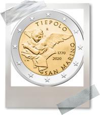 2 EURO *** San Marino 2020  *** 250 jaar/ans Tiepolo *** San Marino 2020 !!!