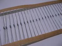 Lot of 100 33200 Ohm 1/8 Watt 1% Metal Film Resistors 33K2 33.2K - NOS