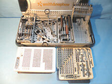 Smith & Nephew Small Fragment System with instruments, 7117, 7116, 7114 series