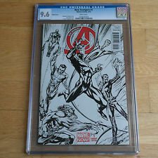 New Avengers #1 Sketch Variant CGC 9.6 J. Campbell Scott Cover