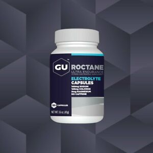 GU ROCTANE ELECTROLYTE 50 CAPSULES - Helps prevent Muscle Cramps