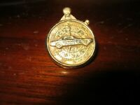 Aurora Slot Car Mustang Stopwatch Pin from Aurora Ford Grand Nationals Race