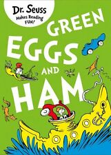 Green Eggs and Ham New Paperback Book Suess