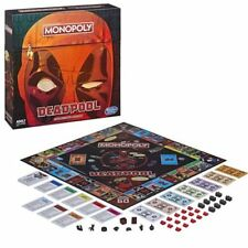 Monopoly: Deadpool Collector's Edition Game (2018) Hasbro New