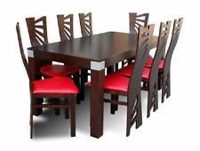 Esstisch + 8 Stühle Esszimmer Set Essgruppe Gruppentisch Tisch Tische Neu Z28