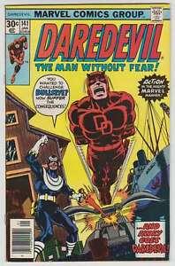 L8436: Daredevil #141, Vol 1, VF/VF+ Condition